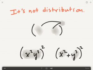 not-distribution